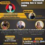Webinar Nasional : Learning How to Teach Online